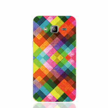 21326 Multicolored Diamonds cell phone case cover for Samsung Galaxy J1 MINI J2 J3 J7 ON5 ON7 J120F 2016 2015