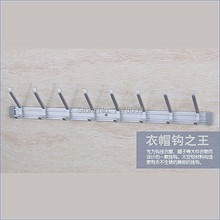 Wall hanging kitchen towel hook,contemporary decorative robe hooks,Space aluminium coat hooks,Free Shipping J15408