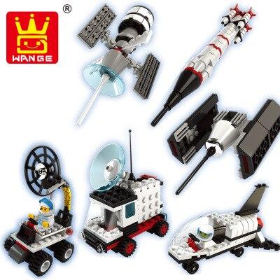 Wange Mini Capsule Toys Action Figures DIY Toys Mini Outer Space Lunar Vehicle Model compatible with legoe Building blocks Toys<br><br>Aliexpress