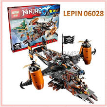 LEPIN Flying Pirate Misfortune Keep Ninjagoed Marvel Ninja Building Block Figures DIY Assemble Active Model Brick Toy Kids Gift
