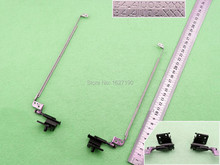 New Laptop Hinges for DELL Inspiron N4050 PN: 34.4IU02.XXX 34.4IU03.XXX  Repair Notebook Left+Right LCD Screen Hinges