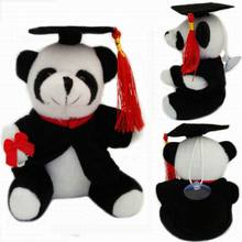 Graduation 13cm Bear Dog Rabbit Panda Kids Plush Toy Soft Stuffed Animals For Baby Girls Kids Lover Best Gift Good Quality