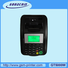 Popular Linux Wireless Mobile POS Printer with LAN & WIFI connectivity Supports Remotely Upgrade Softare(China)