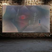 Graffiti  Pinz anagogia Landscape Abstract Paul Klee Spray Unframed Frameless Canvas Oil Painting picture Artist Colorful