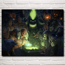 Hearthstone: Heroes of WoW Video Game Art Silk Poster Prints Home Wall Decor Painting 12x16 18x24 24x32 30x40 Inch Free Shipping