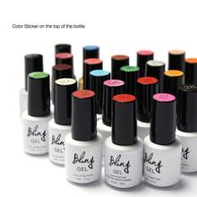 (30pcs/lot) Nail glue imported phototherapy glue QQ/ Bobbi glue foreign trade hot, 80 color optional by dhl free(China)