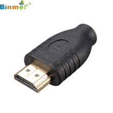Standard HDMI Male Type A to Micro HDMI Type D Female Socket Adapter Converter LJJ0119(China)
