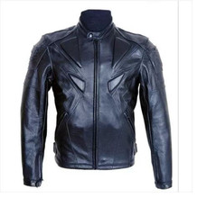 Fashion leisure PU leather motorcycle jacket Motorbike Protective Jackets moto jacket Men's motorcycle jackets(China)