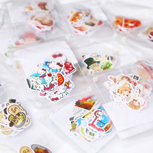 11-40pcs/set Paper Stickers Cute Cartoon Hello Kitty Food Flowers Girls Photo Album Diary Scrapbook Calendar Decorative Stickers