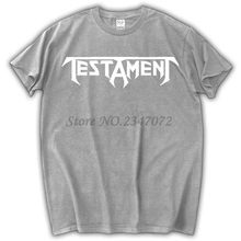 TESTAMENT THE LEGACY'87 THRASH BAND SLAYER FORBIDDEN EXODUS NEW BLACK T-SHIRT(China)