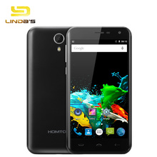 HOMTOM HT3 5.0 inch Android 5.1 3G GPS WiFi Smartphone MTK6580 Quad Core 1.3GHz 2.5D HD Screen 1GB 8GB Dual Cameras Cellphone