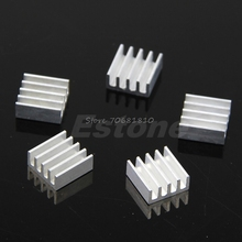 5Pcs/set High Quality Aluminum Heat Sink For Memory Chip IC 11*11*5mm -R179 Drop Shipping