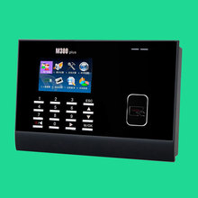 TCP/IP 125khz proximity rfid card Card Time Attendance Punch Card Time Clock with Free Software ZK M300Plus(China)