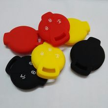 Mercedes Silicone Shell Remote Key Head Case Cover Benz Smart K Roadster Fortwo ROADSTER 3 Button Key