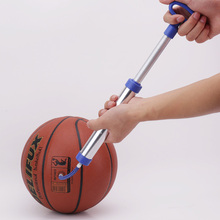 Portable Inflatable Pump Inflator Air Pump Basketball Football Soccer Stainless Steel Pin Ball Inflating