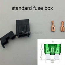 200sets medium Fuse Holder ATC/ ATO Automotive Waterpoof Automotive fuse socket Fuse Box Car Fuse