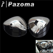 PAZOMA Chrome Pair Motorcycle Air Cleaner Filter Cover for Suzuki Boulevard M109 M109R VZR1800