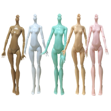 High Quality Imitation Demon Monster Dolls Naked Body Without Head For Dolls DIY 7Colors Fairytales Rotatable Joints Doll Bodies