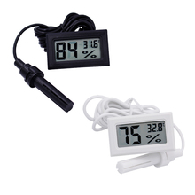 New LCD Digital Thermometer Hygrometer Temperature Humidity Meter -50~70C 10%~99%RH 10% off