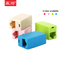 10 pcs Newtwork Ethernet Dual Straight Head Lan Cable Joiner Coupler RJ45 CAT 5 5E 6 6a Extender Plug Network Cable Connector