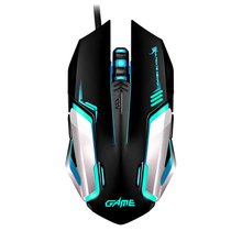 2.4G Wireless LED Mouse Silent Gamer Transparent Ultra-thin 1200DPI Glow In the Dark Gaming Mice for Notebook Desktop Computer
