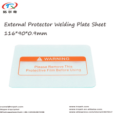 10pcs 110*90*0.9mm External Protector Plate Sheet/Lens Cover Solar Welding Helmet Accessory/Welder Mask Parts Free Shipping