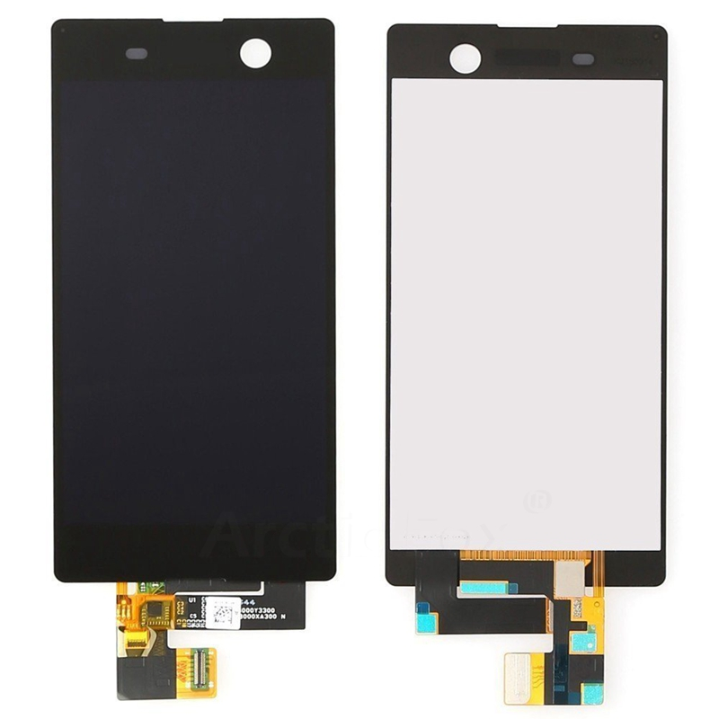 100% No Dead Pixel For Sony Xperia M5 E5603 E5606 E5653 LCD Display with Touch Screen Digitizer Assembly<br><br>Aliexpress