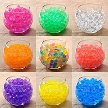600pcs Crystal ball 2.5mm to 3mm Crystal soil/Crystal ball/sea baby grow up 10-20mm hydrogel beads water holder(China)
