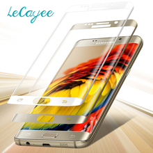 For Samsung Galaxy S6 edge 3D Curved Full Coverage Tempered Glass for Samsung Galaxy S6 edge plus Screen Protective Glass