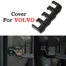 4pcs/lot Car styling Door Check Arm Protection Cover For Volvo S60 S60L XC60 XC90 C70 V40 V60