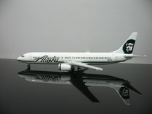 1:500 American Airlines Alaska Boeing737-900 N307AS Alloy Aircraft Model Free Shipping(China)