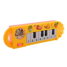 Cute Baby Kids Toy Plastic Musical Toys Piano Developmental Game Early Educational Toys Instrumentos Musicais Game(China)