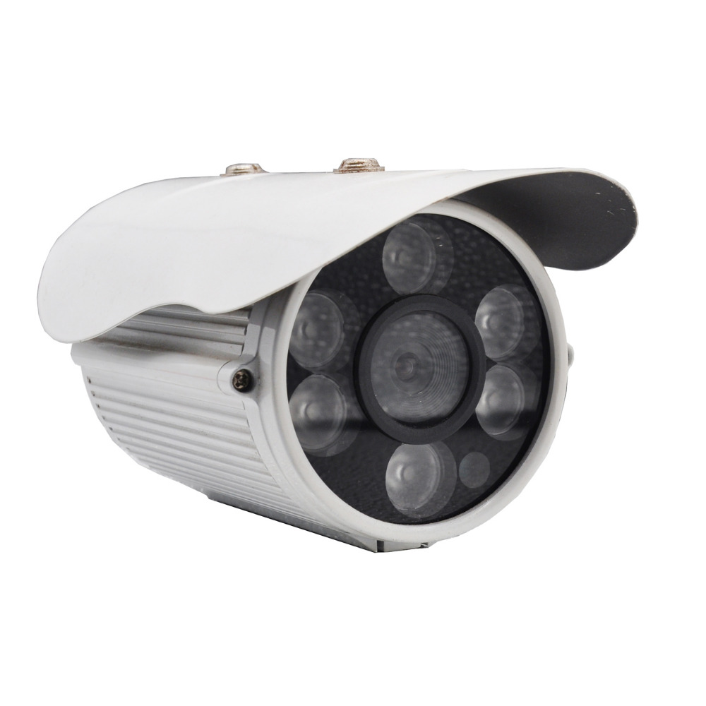 H.264 Wired Network IP Camera Outdoor Waterproof 2.8mm Security Surveillance Security Cameras 720P PAL NTSC CCD Home Cameras<br>