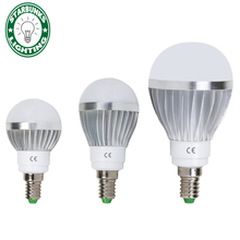 e14 led lampada LED lamp E14 220v bulb high bright LED lamp smart power bombilla ic light bedroom AC 220V high power led light(China)