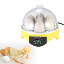 7 Eggs Mini Egg Incubator Controller Hatcher Poultry Hatchery Machine for Chicken Duck Quail Birds Automatic Temperature(China)