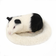 Winter Warm Small Pet Cage Mat Hamster Hedgehog Round Bed Washable Hamster Mat