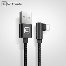 CAFELE NEW 150CM USB Cable for iphone 7 / 7 Plus / 6 / 6s / 6 Plus / 6s Plus / SE / 5s / 5 Nylon Charging Cable for Apple Phones(China)