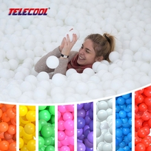 100 Pcs/Lot Soft Plastic Ocean Ball Pit Ball Pool BOBO Ball Pure Color Colour High Quality with CE Certification Free Shipping