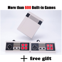 Mini Portable Retro Classic handheld Game Player Family TV video Game Console Childhood Built-in 600 Games Games for Child