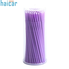100Pc/Bottle Purple Microblading Micro Brushes Swab Lint Free Tattoo Permanent Supplies accesories G61102(China)
