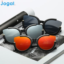 JOGAL Good Deal Brand Designer Sunglasses  Women Men Vintage Retro Glasses Fashion Aviator Mirror Lens Sunglasses  1pc*30
