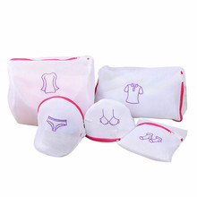1pc Bra Underwear Laundry Wash Bag Foldable Baskets Zippered Mesh Bag Household Cleaning Tools Accessories Laundry Wash Care Net(China)