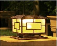 Solar Led Landscape Wall Lamp Post Garden Super Bright Outdoor Light Villa  Stigma