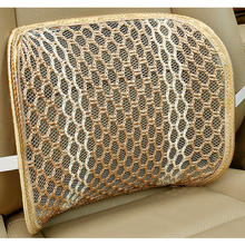 Auto Seat Chair Cushion Accessories Mesh Car Seat Back Support Office Home Use Massage Lumbar Support Car styling Summer