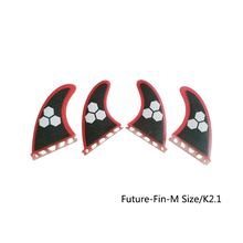 Ebuy360 (4 pieces/lot) Future Quad Fins Surfboard Accessories Pro High Quality Fiberglass Honeycomb Rudder Surfing Fins(China)
