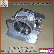 New and top quality for YAMAHA 125cc motorcycle engine parts YBR125 JYM125 cylinder head kit