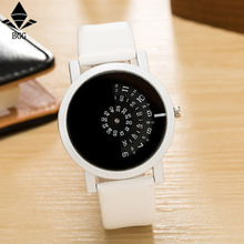 creative design wristwatch camera concept brief simple special digital discs hands fashion quartz watches for men women 2017 bgg