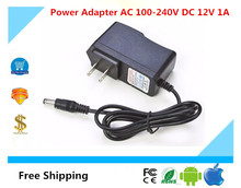 Luckertech high quality Power Adapter AC 100-240V DC 12V 1A For CCTV IP AHD Analog Camera 2.1mm * 5.5mm(China)