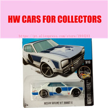 2017M Hot Wheels Nissan Skyline HT 2000GT X Metal Diecast Cars Collection Kids Toys Vehicle For Children Juguetes(China)