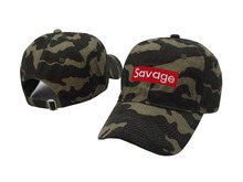 2017 Savage Baseball Cap Newest Dad Hat Snapback Cap Brand Men Women Cotton Bone Hip Hop Sun Cap Fashion Camouflage Gorras